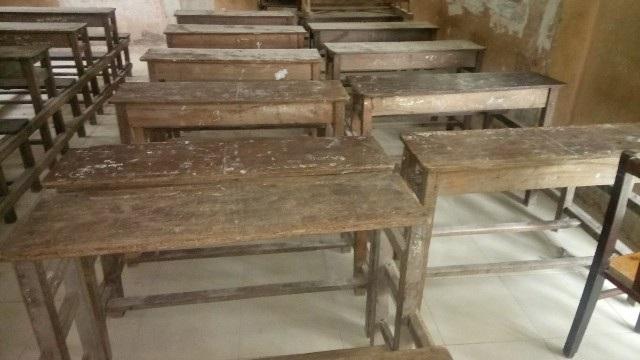 Cơ sở vật chất tại nhiều điểm trường đạt chuẩn Quốc gia ở Cà Mau đang xuống cấp trầm trọng.
