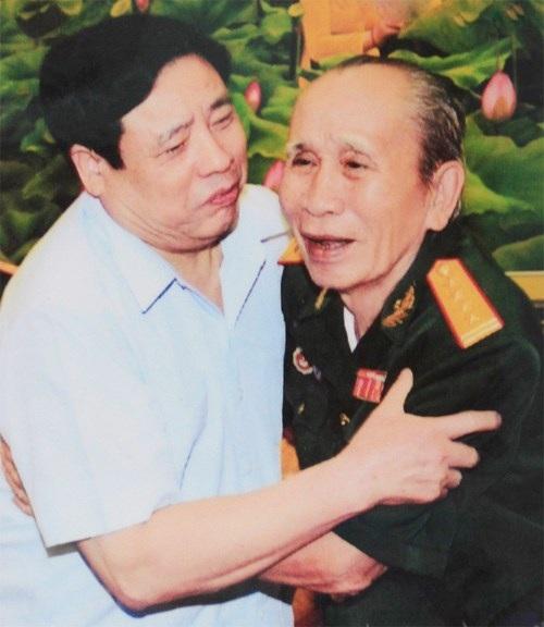 Đại tướng Phùng Quang Thanh và Đại tá, CCB Nguyễn Đức Toại