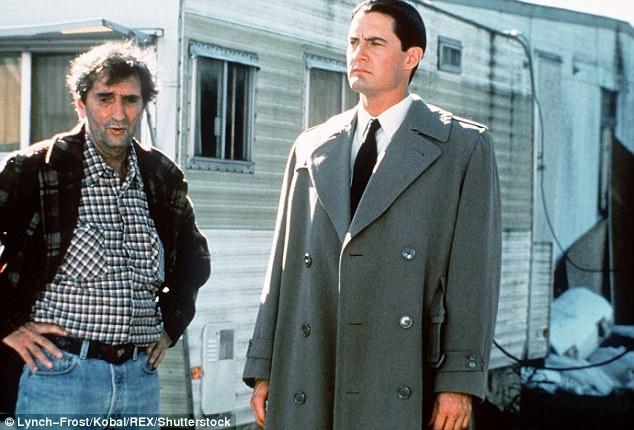 """Stanton trong loạt phim truyền hình """"Twin Peaks"""" lên sóng hồi năm 1992."""