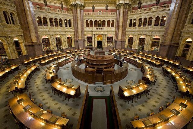 Phòng đọc của Thư viện Quốc hội Hoa Kỳ