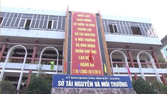 Lãnh đạo Sở TN&MT có trách nhiệm với những sai phạm tại Trung tâm quan trắc tài nguyên và môi trường tỉnh Bắc Giang.