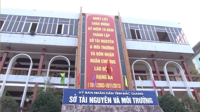 Sở TN&MT tỉnh Bắc Giang cho rằng trách nhiệm giải quyết cũng như làm rõ để đưa ra kết luận thuộc về UBND huyện Việt Yên?