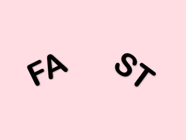 Gợi ý: Từ Fast bị bẻ làm đôi có nghĩa là gì?