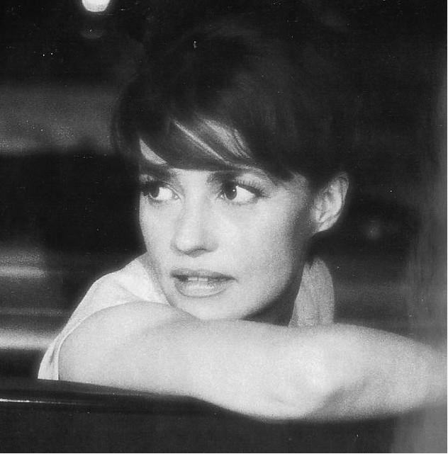 Nữ diễn viên người Pháp Jeanne Moreau thời trẻ