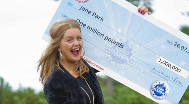 Jane vẫn còn là một cô gái tuổi teen khi nhận được giải xổ số 1 triệu bảng Anh. Từ trải nghiệm của chính mình cô khuyên những người thắng giải khác hãy nghĩ kỹ về việc có công khai danh tính của mình hay không.