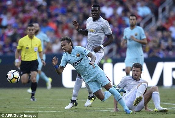 Neymar ghi bàn thắng duy nhất của trận đấu