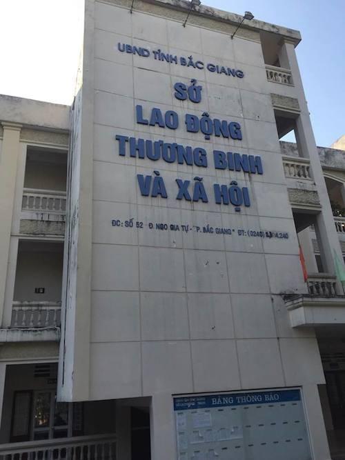 Chi cục Thuế huyện Yên Dũng và Sở LĐTB&XH tỉnh Bắc Giang là 2 trong nhiều đơn bị được UBKT tỉnh ủy Bắc Giang yêu cầu kiểm điểm, làm rõ trách nhiệm.