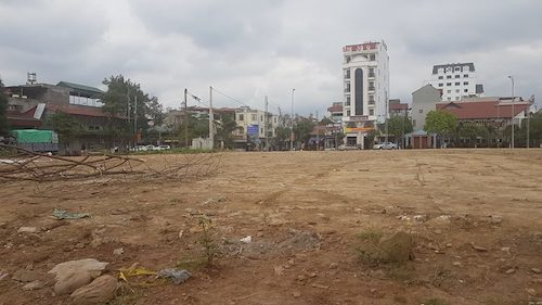 Thửa đất rộng hơn 4000m2 cấp cho Dự án của Công ty Kinh Bắc hiện đã bị UBND tỉnh Lào Cai thu hồi.