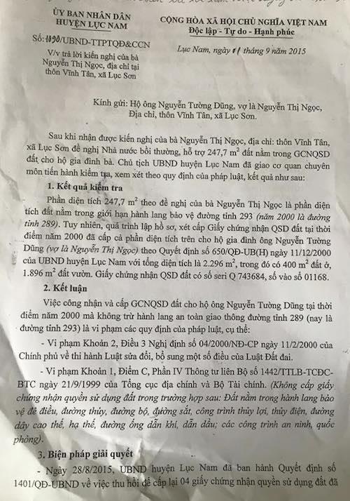 """Bắc Giang: Dân đồng loạt kiện huyện ra toà, chính quyền """"chữa cháy"""" thế nào? - 5"""