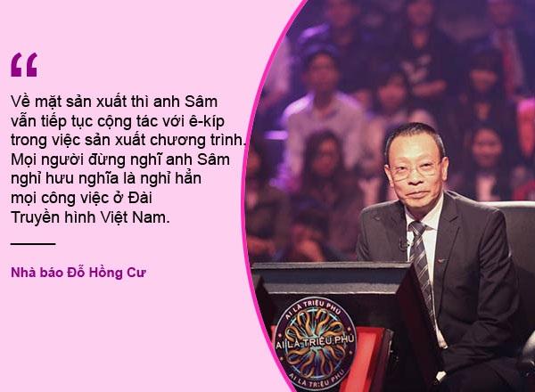 """Xem thêm: Ai sẽ là người thay MC Lại Văn Sâm dẫn """"Ai là triệu phú""""?"""