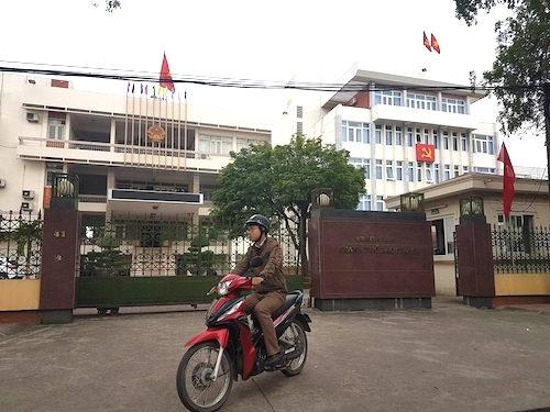 Trụ sở UBND TP Bắc Giang.