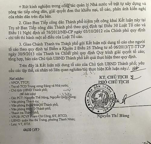 Lãnh đạo UBND phường Thanh Nhàn (Hai Ba Trưng - Hà Nội) cố tình trì hoãn, chậm trễ trong giải quyết đơn của công dân, việc giải quyết đơn không theo trình tự quy định của Luật tố cáo.