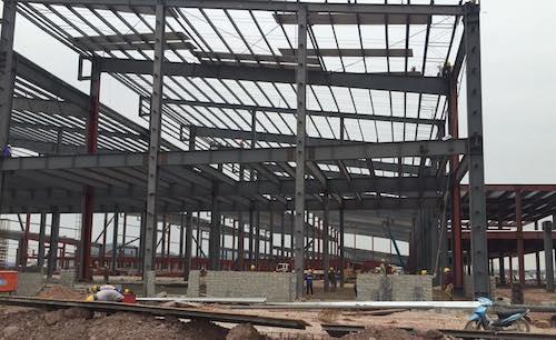 Hiện trạng đại công trường dự án trăm triệu USD bất chấp pháp luật tại Bắc Giang.