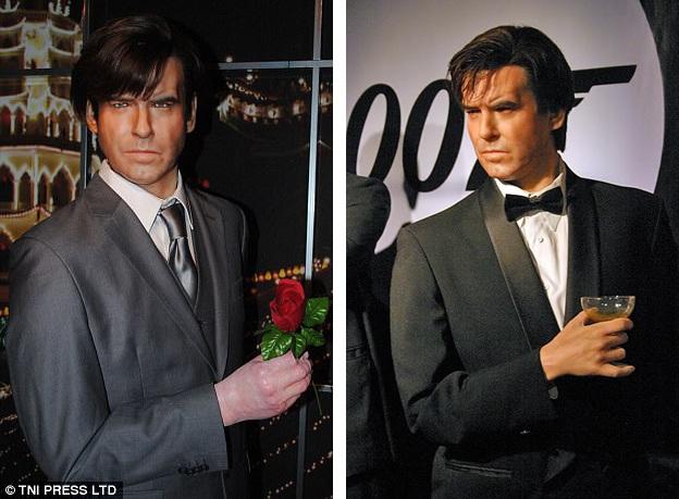"""27. Khó nhận ra chân dung nam tài tử từng vào vai điệp viên 007 với những phim như """"Mắt vàng"""", """"Ngày mai không lụi tàn"""", """"Hẹn chết ngày khác""""."""