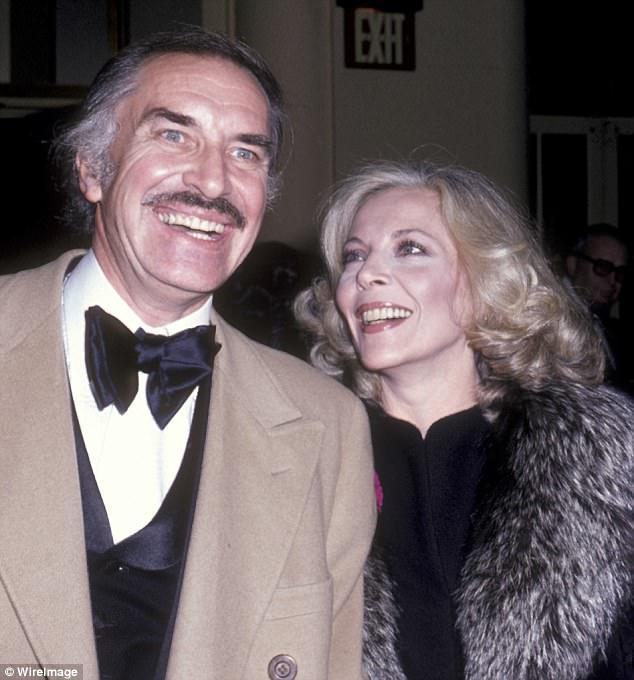 Nam diễn viên Martin Landau và vợ - nữ diễn viên Barbara Bain hồi năm 1980.