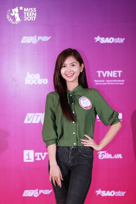 Top 18 thí sinh xuất sắc nhất Miss Teen 2017 - 17