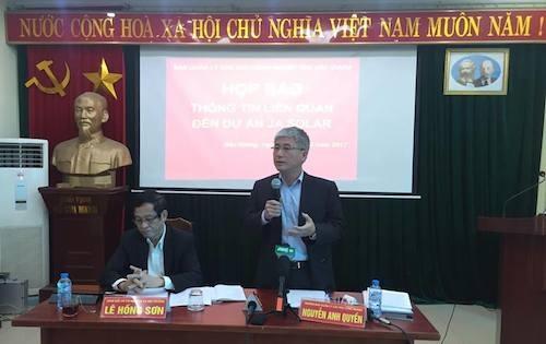 Ban quản lý các KCN tỉnh Bắc Giang thừa nhận sai phạm việc để dự án trăm triệu USD khởi công khi chưa có ĐTM.
