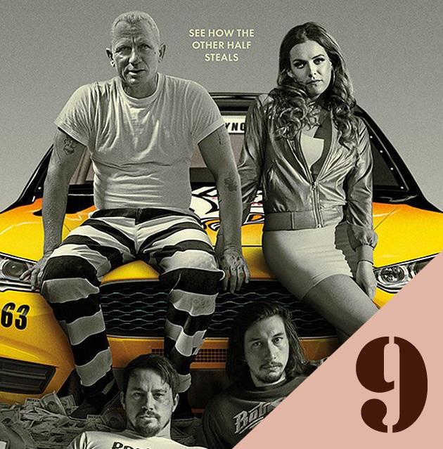"""""""Logan Lucky"""" đứng thứ 9 với 1,8 triệu USD thu về."""