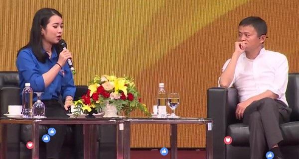 Khánh Linh tiết lộ cô thần tượng tỷ phú Jack Ma từ khi còn học THPT