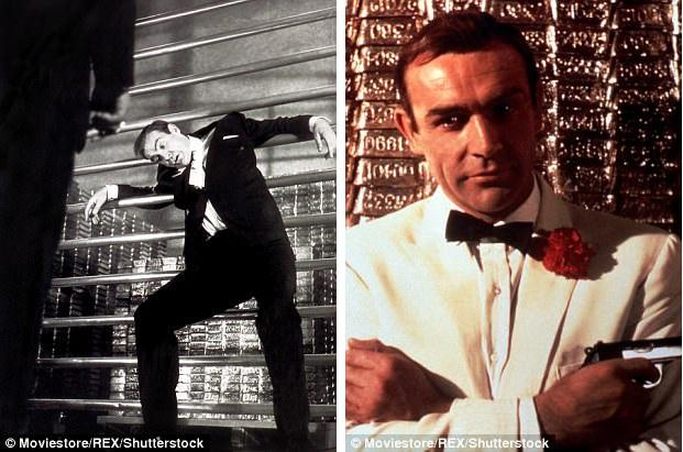 """Kho vàng đã từng trở thành bối cảnh ghi hình của vài bộ phim, nổi tiếng nhất phải kể tới tập phim làm về Điệp viên 007 - """"Goldfinger"""" (Ngón tay vàng - 1964), trong phim, điệp viên James Bond đã đập tan một kế hoạch nguy hiểm hòng phá hủy kho vàng."""