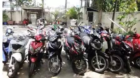 Chỉ trong thời gian ngắn, ổ nhóm này đã trộm cắp, tiêu thụ nhiều xe máy (ảnh minh họa)