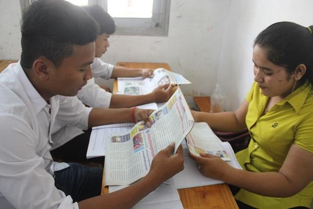 Phần lớn sinh viên theo học ngành đặc thù này đều là con em đồng bào dân tộc Khmer