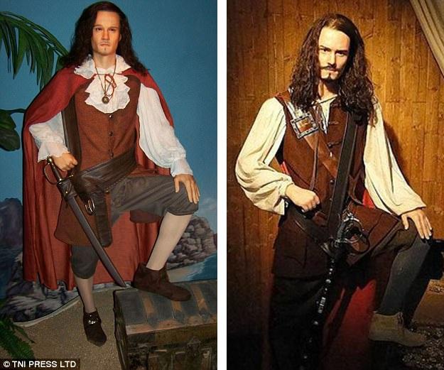 2. Nam diễn viên điển trai nổi tiếng với vai diễn trong hai loạt phim làm về cướp biển và về những chiếc nhẫn.