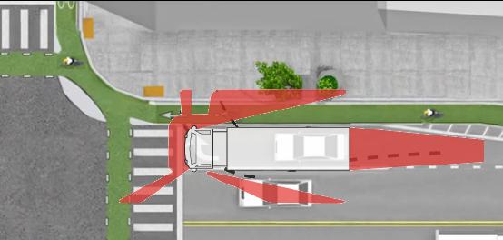 Kinh nghiệm đi cạnh xe tải, xe công-ten-nơ - 2