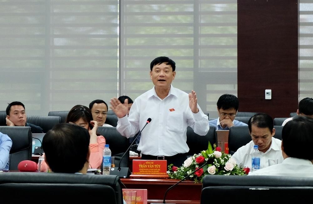 Ông Trần Văn Túy đánh giá cao công tác cải cách hành chính của Đà Nẵng