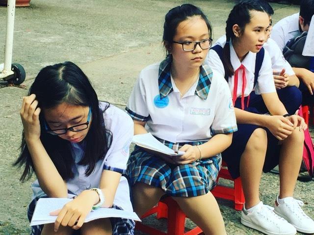 TPHCM: Gần 74.000 học sinh cạnh tranh tìm suất vào lớp 10 công lập - 1