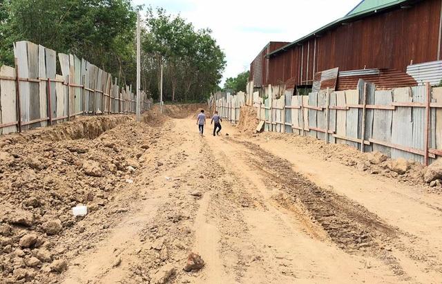 Theo UBND thị xã Bến Cát, hiện nay phía Cty Gia Nguyên đang tiếp tục thực hiện những phần chưa hoàn thiện. Phòng QLĐT và UBND xã An Điền tiếp tục theo dõi, kiểm tra việc thực hiện của Cty Gia Nguyên.