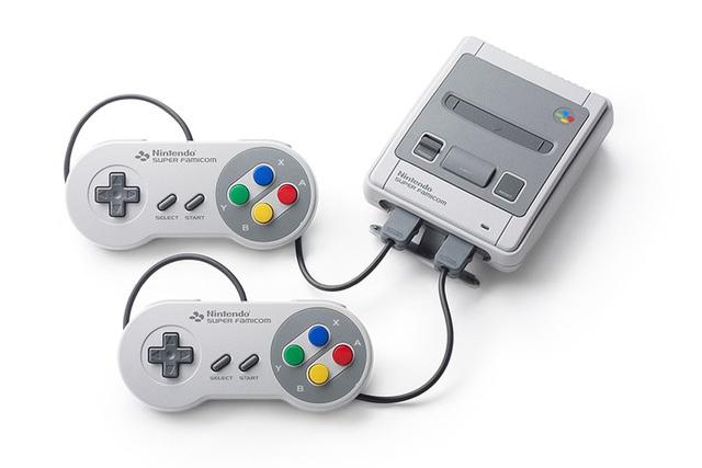 Toàn cảnh máy điện tử Classic Mini Super Famicom mới được phát hành tại Nhật.