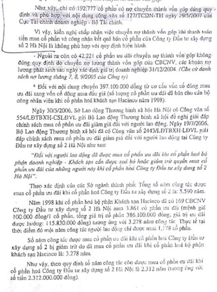 Vụ cổ phần hóa HACINCO: Phó Thủ tướng Trương Vĩnh Trọng từng chỉ đạo thế nào? - 3