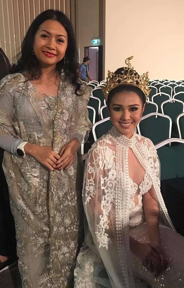 Bà Trần Uyên Phương, lãnh sự danh dự nước Cộng hòa Nam Sudan và Miss Grand International 2016.