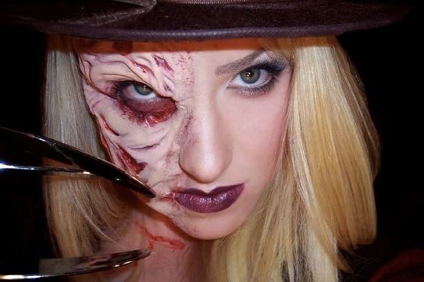 Những ý tưởng trang điểm kinh dị cho ngày lễ Halloween - 5