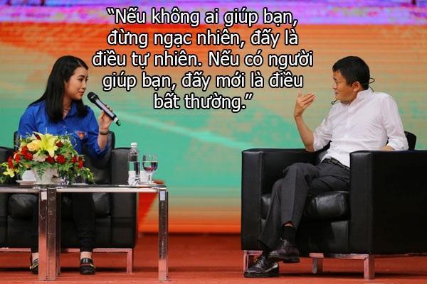 Những câu nói truyền cảm hứng của Jack Ma với sinh viên Việt Nam - 8