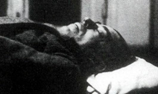 Hình ảnh được cho là thi thể Reilly sau khi bị bắn chết