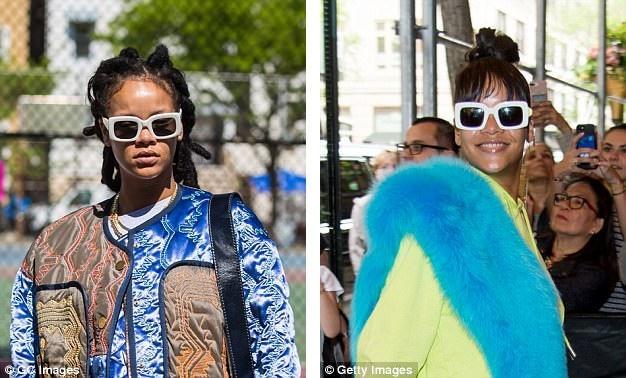 Phong cách của Rihanna đôi khi rất… dị biệt.