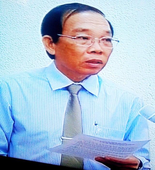 Chánh Thanh tra tỉnh Bạc Liêu Hồ Hữu Lượng cho rằng, rất khó nói về lời hứa của Phó Chánh Thanh tra 1 năm trước.