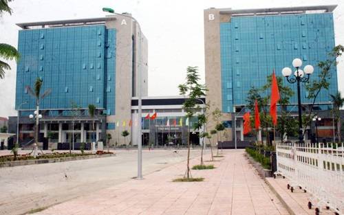 Hàng loạt sai phạm được kết luận liên quan đến dự án xây dựng khu liên cơ quan tỉnh Bắc Giang. (Ảnh: Báo Bắc Giang)
