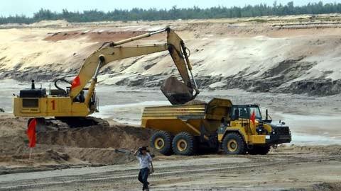 Dự án mỏ sắt Thạch Khê được triển khai được cho là sẽ đem lại hàng tỷ USD tiền thuế