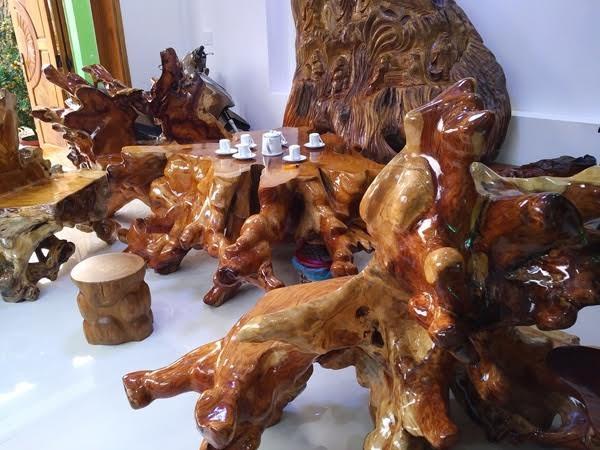 Bộ ghế gỗ sưa ngàn tuổi