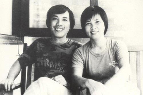 Chân dung nhà thơ Xuân Quỳnh và nhà thơ Lưu Quang Vũ. Ảnh: TL.