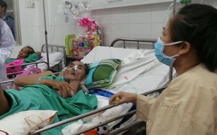 Nhiều người bệnh đang giành giật sự sống tại bệnh viện Phạm Ngọc Thạch