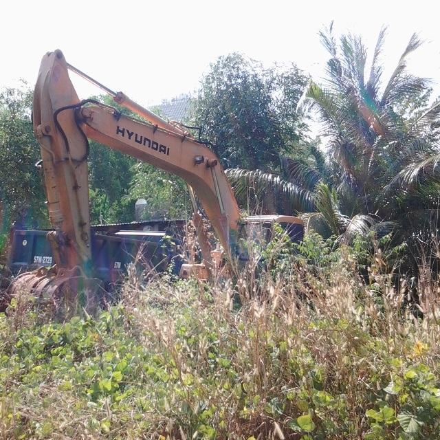 Trong khi đó, công trình dự án của Công ty Hải Lưu nhiều năm qua hiện vẫn hoang vắng một cách lạ thường, dù đã được tỉnh cho thực hiện từ những năm 2006.