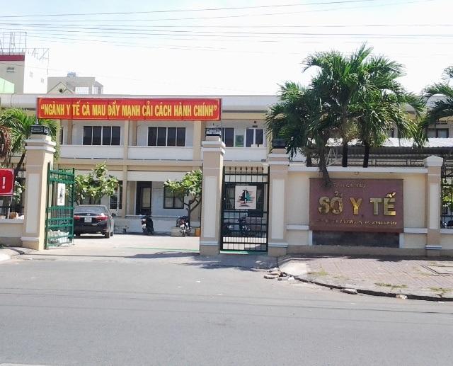 Sở Y tế tỉnh Cà Mau. (Ảnh: Huỳnh Hải)