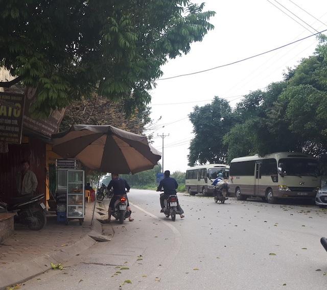 Giao thông thông thoáng tại thị trấn Văn Giang sau khi nhân dân giao đất thực hiện các dự án làm đường.