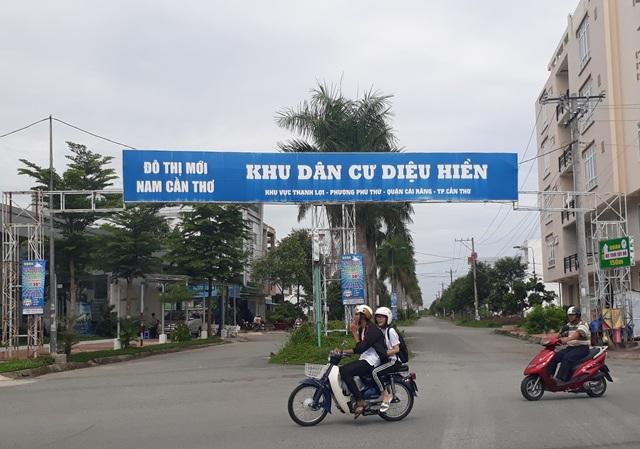 Khu Dân cư Diệu Hiền nằm ngay trung tâm TP Cần Thơ hoạt động hơn 10 năm nay, nhưng người vẫn phải xài điện câu đuôi.