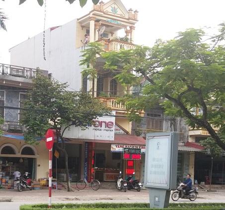 Tiệm vàng Kim Khoan- nơi vừa xảy ra vụ trộm