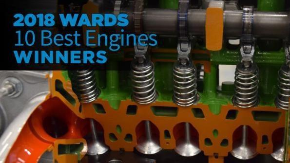 Đây là năm thứ 24 tạp chí Wards xếp hạng 10 động cơ xuất sắc nhất năm.